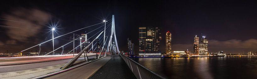 Panorama Erasmusbrug van Rob van de Graaf