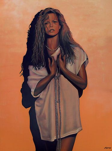 Kim Basinger schilderij