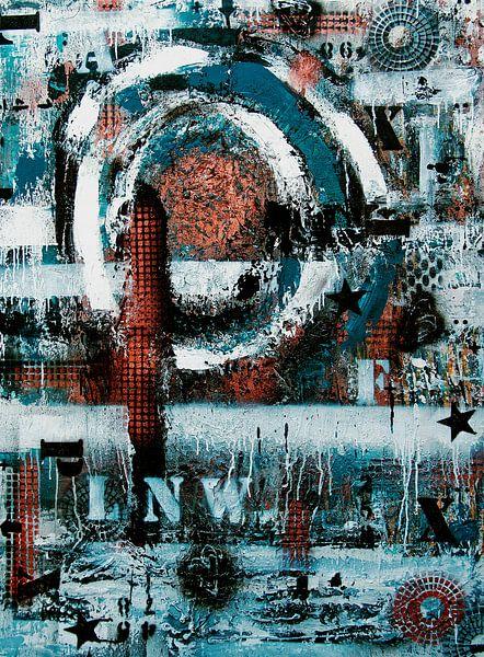 Love not War van Femke van der Tak (fem-paintings)