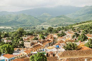 Der Blick vom Kirchturm in Trinidad von Glenn Westenberg
