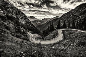 Silvretta Alpenstrasse van Rob Boon
