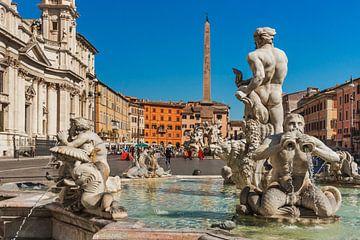 Piazza Navona, Rome, Italy sur Gunter Kirsch