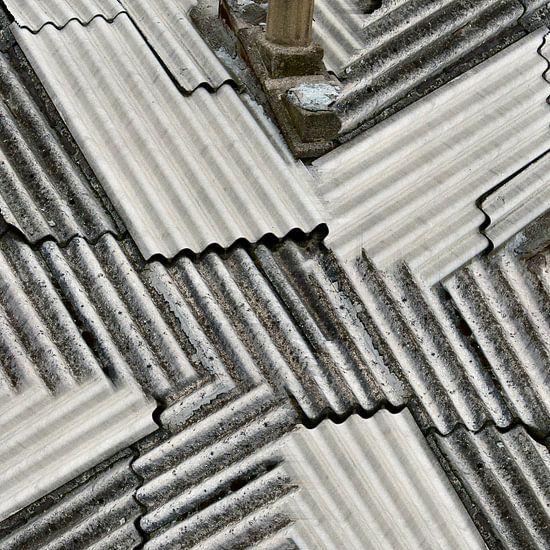 Cheep roofing (002) van Jeroen van der Meij