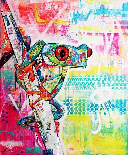 Free like a frog van Janet Edens