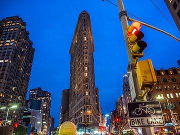 New York, Flat Iron-Gebäude im Stadtzentrum von Ruurd Dankloff