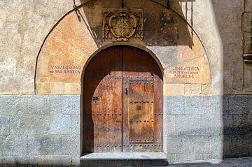 Bibliothèque universitaire de Salamanque - Espagne sur Hannie Kassenaar