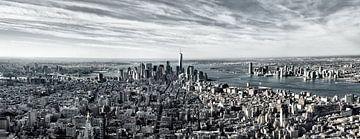 New York Panorama von Anita Meis