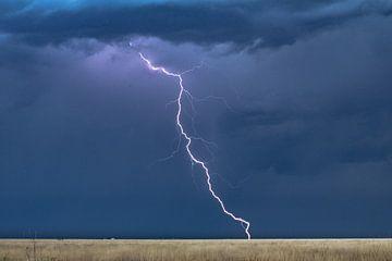 Kansas thunderstorm von Donny Kardienaal