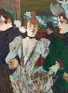 La Goulue geht ins Moulin Rouge, Henri de Toulouse-Lautrec - 1892
