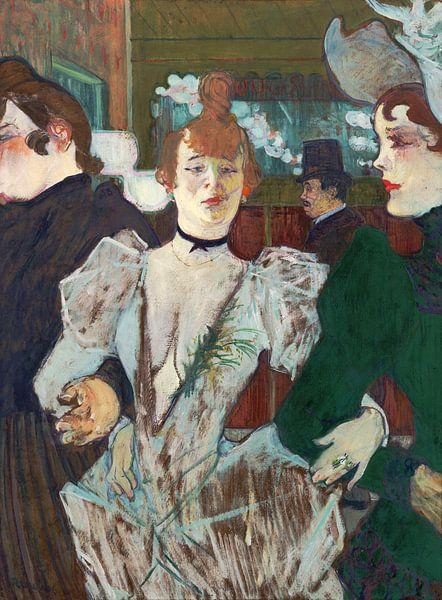 La Goulue geht ins Moulin Rouge, Henri de Toulouse-Lautrec - 1892 von Het Archief
