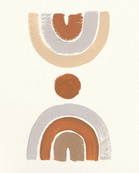 Wüste Rainbows II, Moira Hershey von Wild Apple