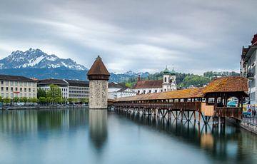 Kapellbrücke Luzern von Ilya Korzelius