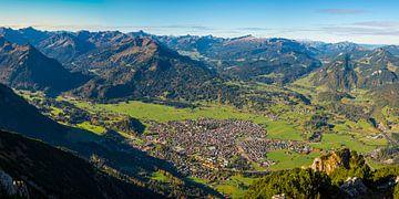 Panorama über Oberstdorf von Walter G. Allgöwer