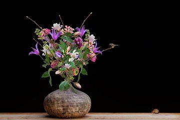 Blumen in Vase von Klaartje Majoor