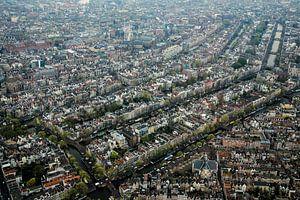 Amsterdam vanuit de lucht van
