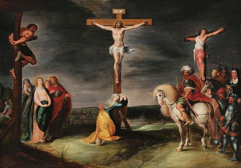 Die Kreuzigung, Frans Francken von Meesterlijcke Meesters