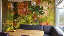 Kundenfoto: Obst und Blumen, Paulus Theodorus von Brüssel, auf fototapete
