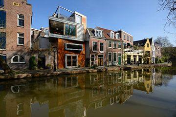 Twijnstraat aan de Werf aan de Oudegracht in Utrecht von In Utrecht
