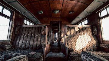 Orient Express Trein - Verlaten oude Wagon