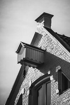 Weißes Lagerhaus in Groningen von Foto's uit Groningen