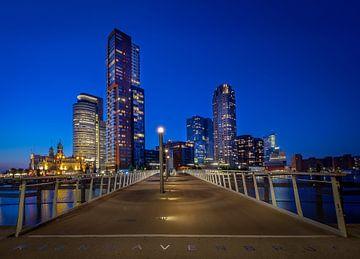 Rotterdam Rijnhavenbrug van Mario Visser