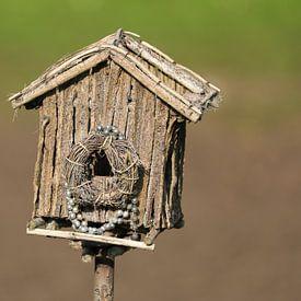 Vogelhuisje van Edwin Butter