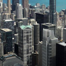 Chicago vanaf de Willistower van Henk Poelarends