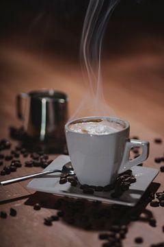 Cappuccino kop van Thomas Heitz