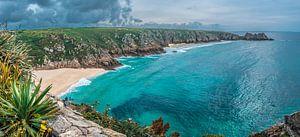 De subtropische kust van Cornwall