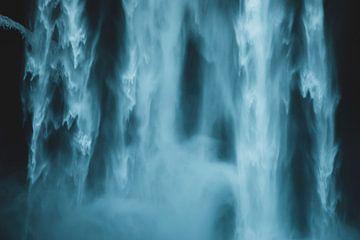 Waterval Skogafoss IJsland van Abby's Voyage