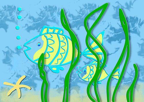 Fish underwater van