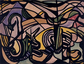 Komposition, Jacoba van Heemskerck - 1917 von Atelier Liesjes