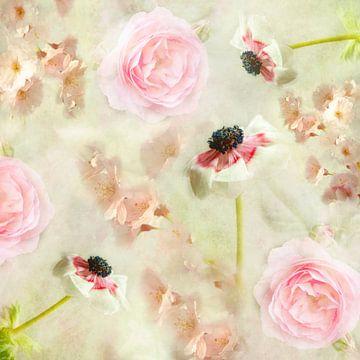 voorjaarsbloemen van Claudia Moeckel