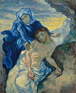 Pieta (nach Delacroix), Vincent van Gogh