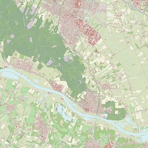 Kaart vanRhenen