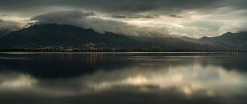 Etang de Biguglia Panorama von Wojciech Kruczynski