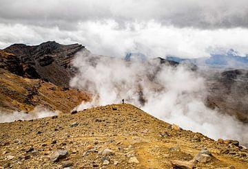 Tongariro Alpine crossing van Valerie Tintel