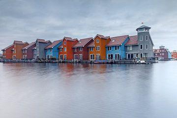 Reitdiephaven Groningen Netherlands sur Menno Schaefer