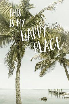 Dit is mijn happy place. van Melanie Viola