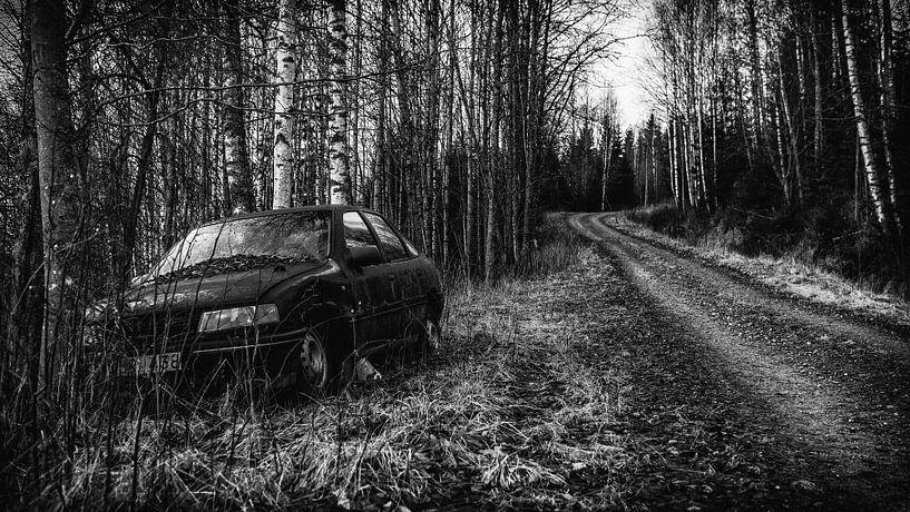einsames Auto von Stefan Pronk