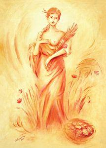 Demeter - Göttin der Fruchtbarkeit von Marita Zacharias