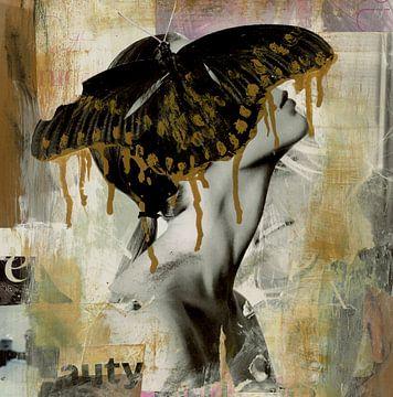 Vlindermeisje van Nora Bland