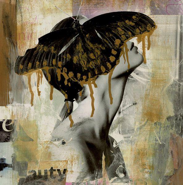Schmetterling Mädchen von Nora Bland