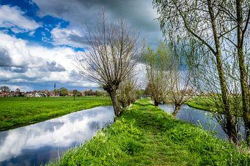 Wandelpad tussen Oudewater en Hekendorp van Gijs Rijsdijk