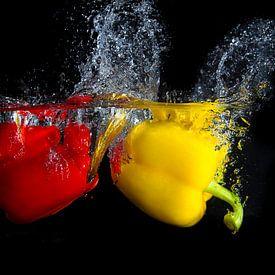 Splashing fruit! von Truus Nijland