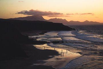 Playa de La Pared, Fuerteventura van Daan Duvillier