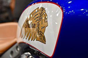 Indian motorfietsen van Jan Radstake