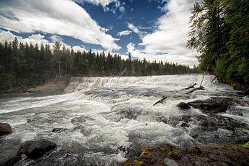 Wells Gray Dawson Falls von Vivo Fotografie