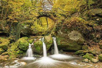 Schiessentümpel in Luxemburg in de herfst van Michael Valjak