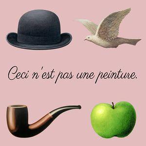 De spullen van Magritte van